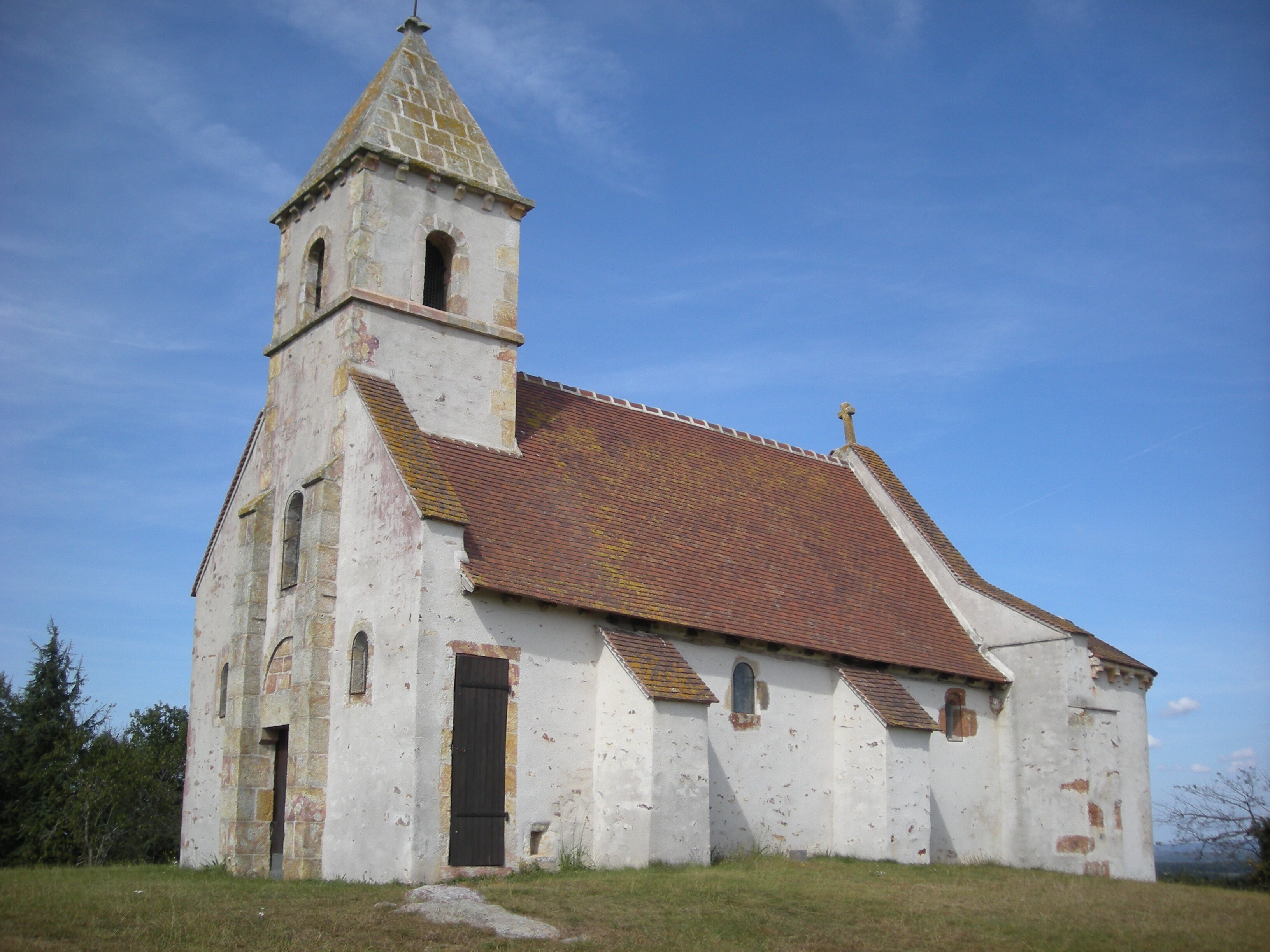 chapelle Ste Agathe Saint-Désiré (qui a inspiré le Grand Meaulnes)
