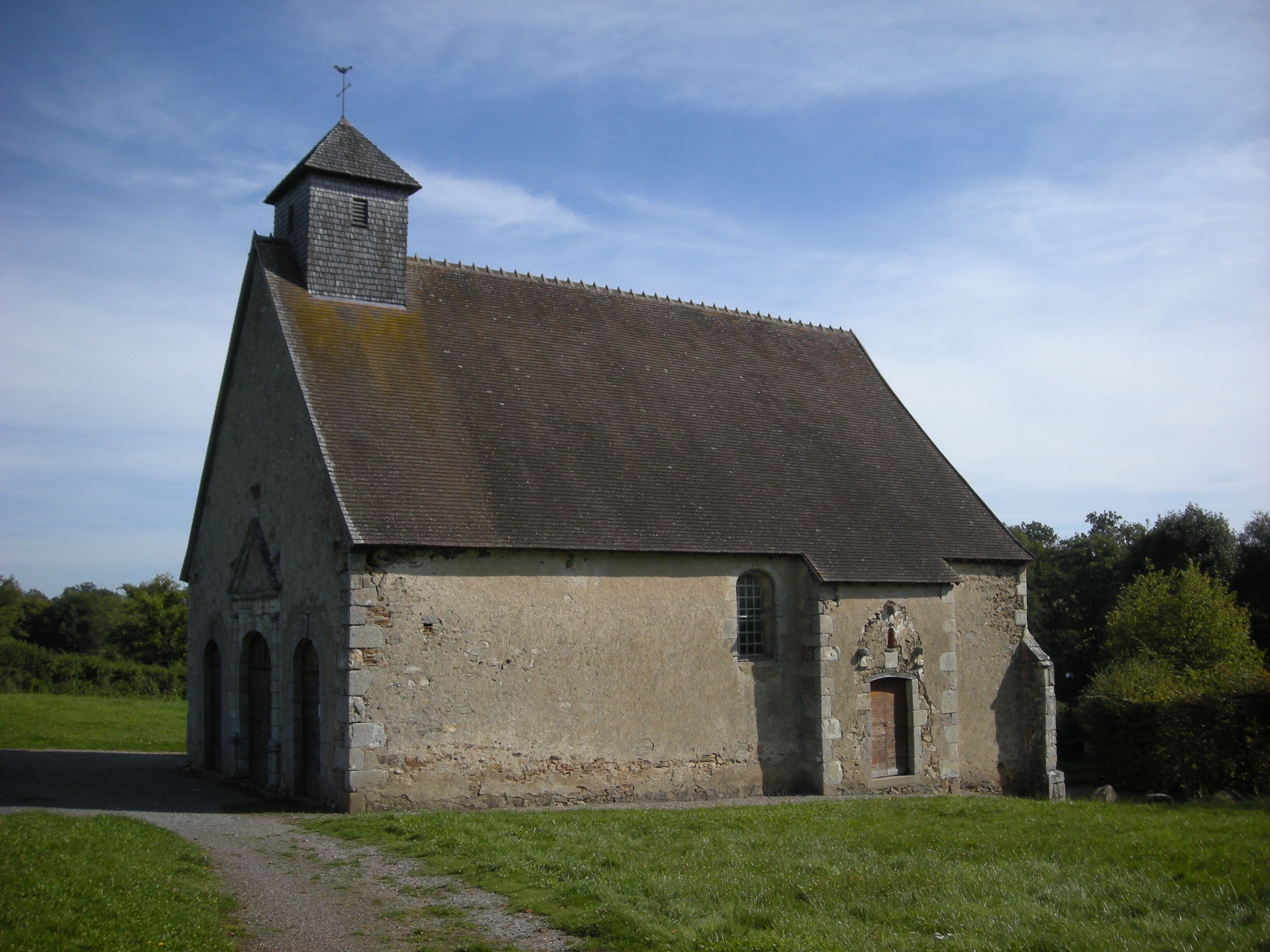 chapelle St Rémy, Saint-Sauvier
