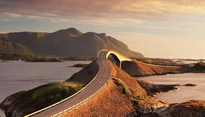Les routes en Norvège