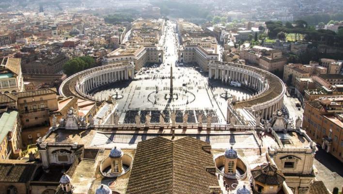 Vatican vue depuis la coupole